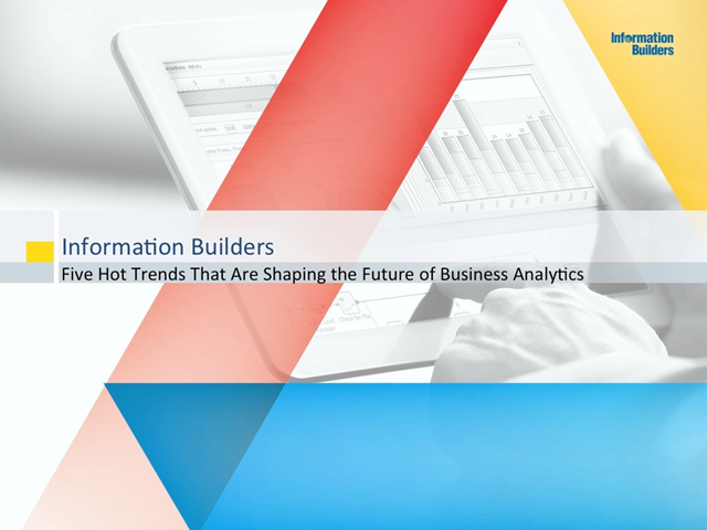 5 Hot Trends for Business Intelligence