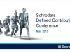 Global economic update - Defined Contribution Conference 2015