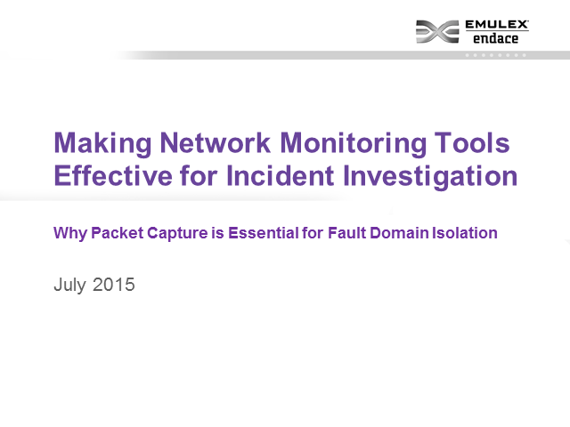 Making Your Network Monitoring Tools More Effective