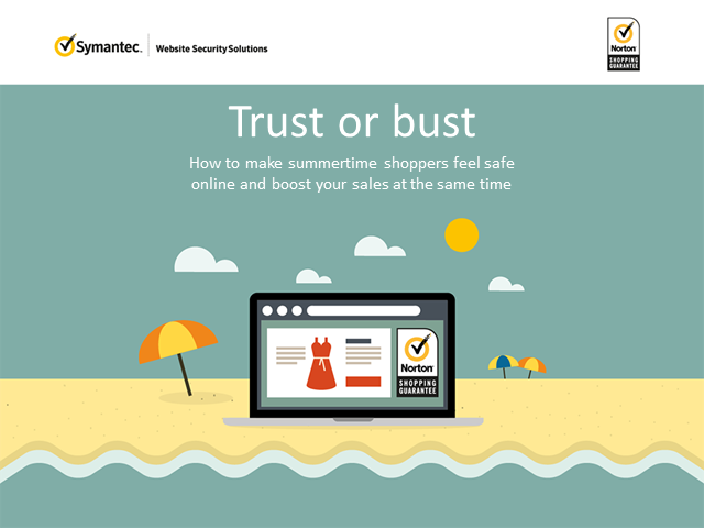 Trust or bust: Make online shoppers feel safer with Norton Shopping Guarantee