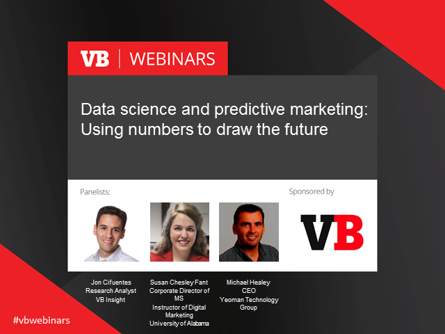 Data science and predictive marketing: Using numbers to draw the future