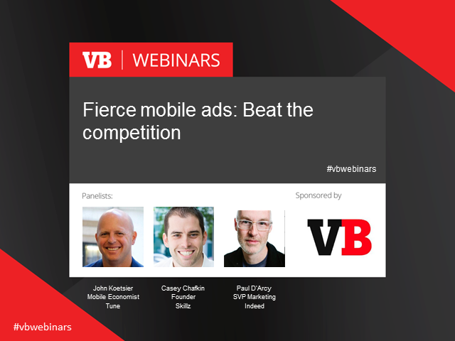 Fierce mobile ads: Beat the competition