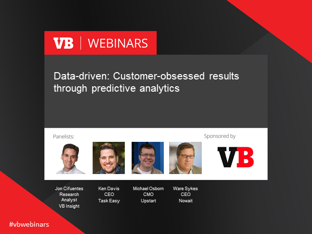 Data-driven: Customer-obsessed results through analytics