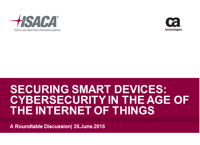 Securing Smart Devices: Cybersecurity in the age of the Internet of Things