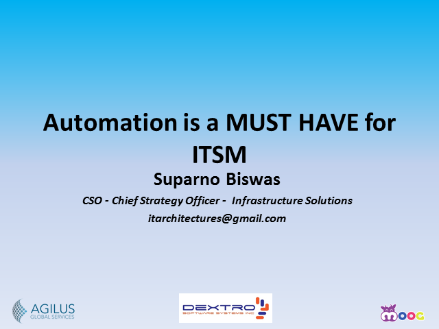 Why Automation is a Must Have for ITSM