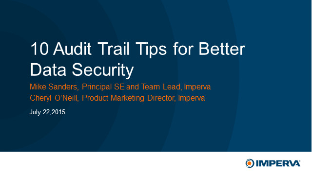 10 Audit Trail Tips for Better Data Security