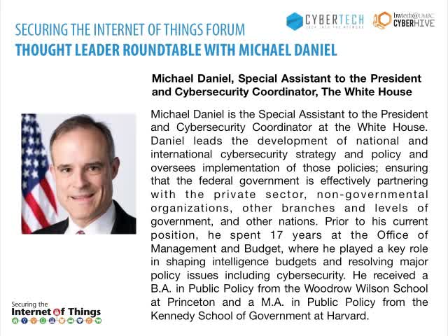 CyberTECH Securing the Internet of Things Forum San Francisco - Part 3