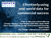 Effectively using real-world data for commercial success