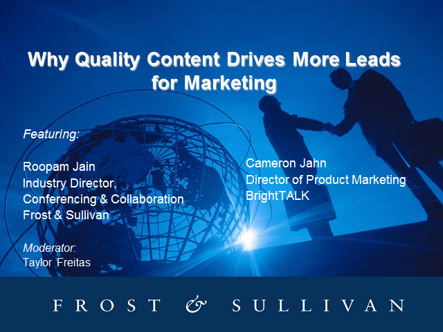 Why Quality Content Drives More Leads for Marketing