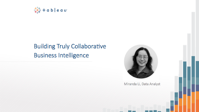 Building Truly Collaborative Business Intelligence