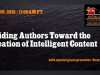 Guiding Authors Toward the Creation of Intelligent Content