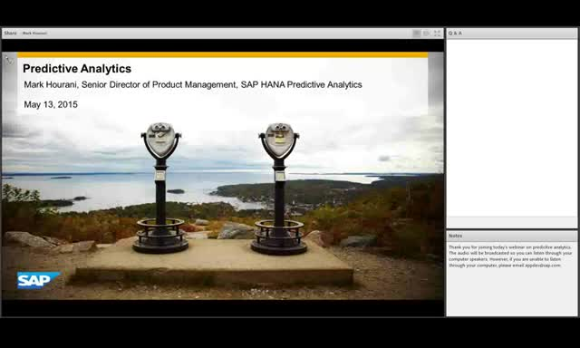 Technical Deep Dive: SAP HANA Cloud Platform Predictive Analytics