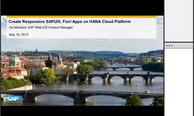 Technical Deep Dive: SAP Web IDE on SAP HANA Cloud Platform