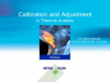 Basics of calibration and adjustment in Thermal Analysis - Useful tips and hints