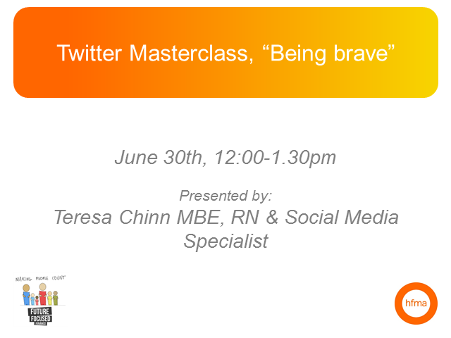 "Twitter Masterclass, ""Being Brave"""