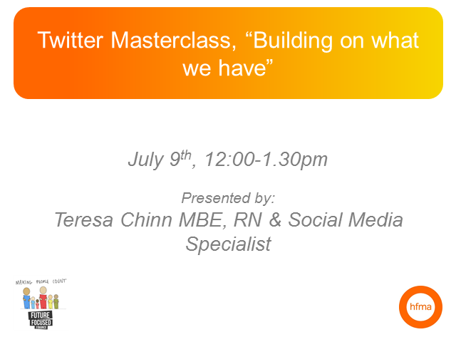 "Twitter Masterclass, ""Building on what we have"""