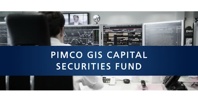 PIMCO GIS Capital Securities Fund