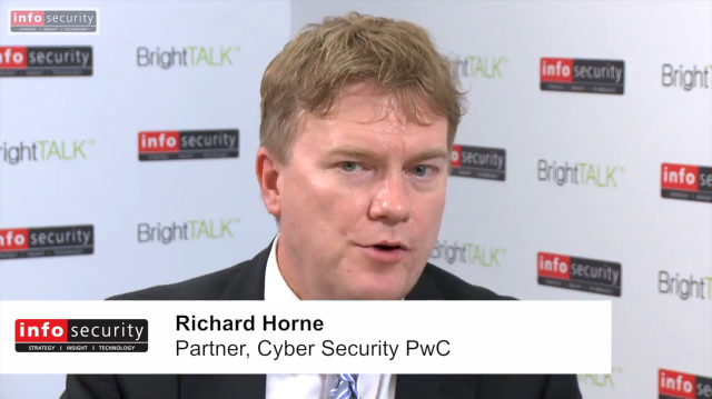 Infosecurity Europe 2015: Andrew Miller & Richard Horne, PwC