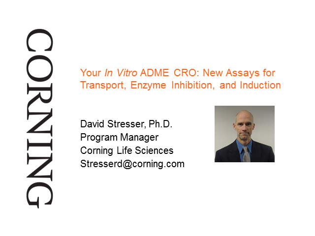 Your In Vitro ADME CRO: New Assays for Transport, Enzyme Inhibition & Induction