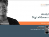 Analytics & Digital Governance