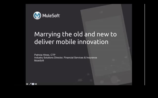 Mobile Innovation in Financial Services