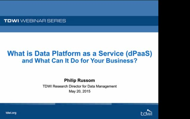 What is Data Platform as a Service (dPaaS) and What Can It Do for Your Business?