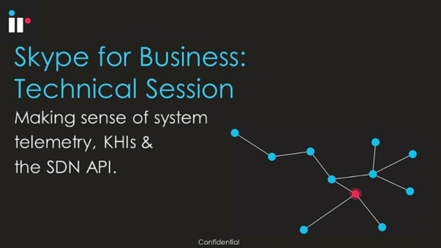 Skype for Business - Technical Session