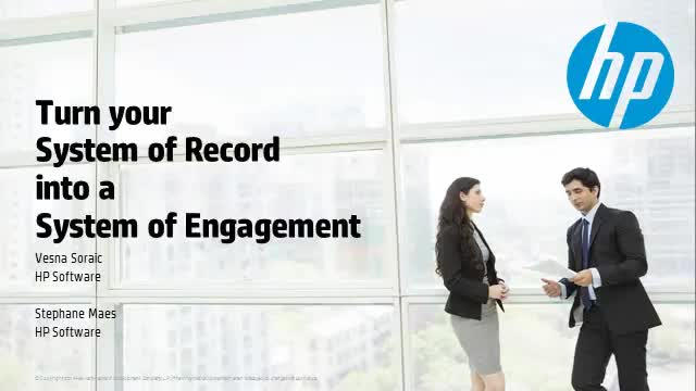 Turn your System of Record into a System of Engagement