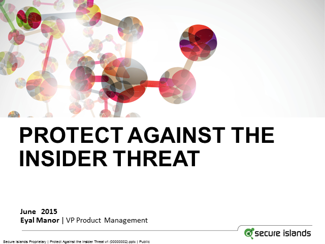 Data Immunization: A New Approach to Protect Against the Insider Threat
