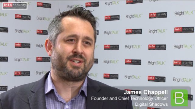 Infosecurity Europe 2015: James Chappell, Digital Shadows