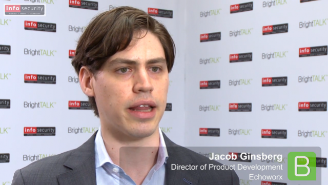Infosecurity Europe 2015: Jacob Ginsberg, Echoworx