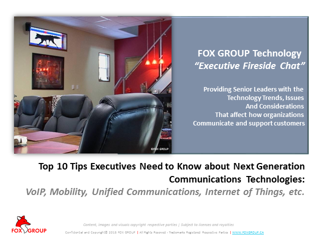 Top 10 Tips Executives Need to Know About Next-Gen Business Communications