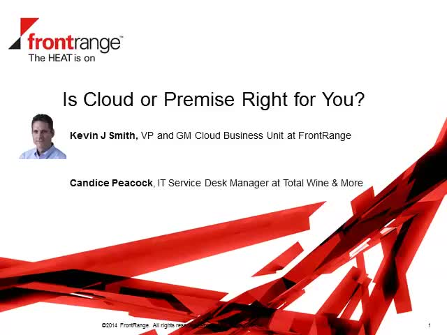 Cloud vs. On-Premise ITSM: Is There a Clear-Cut Winner?