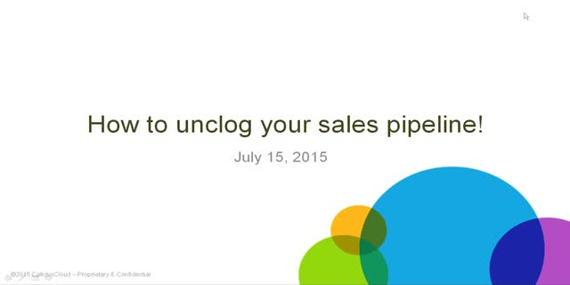 How to Unclog Your Sales Pipeline