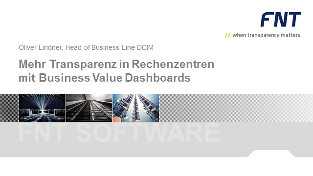 Mehr Transparenz in Rechenzentren mit Business Value Dashboards