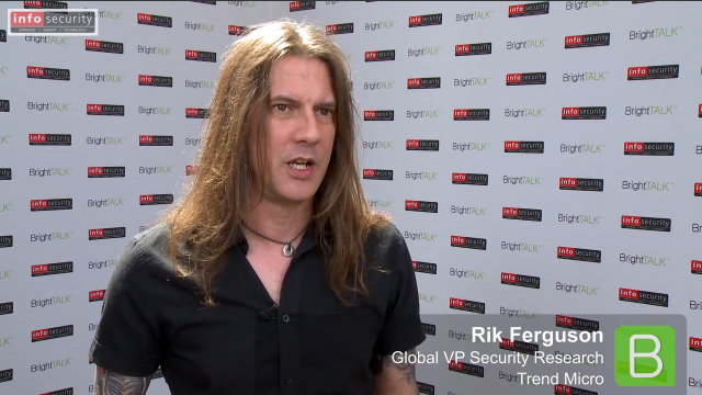 Infosecurity Europe 2015: Rik Ferguson, Trend Micro