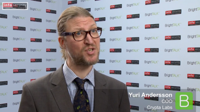 Infosecurity Europe 2015: Yuri Anderson, Crypta Labs