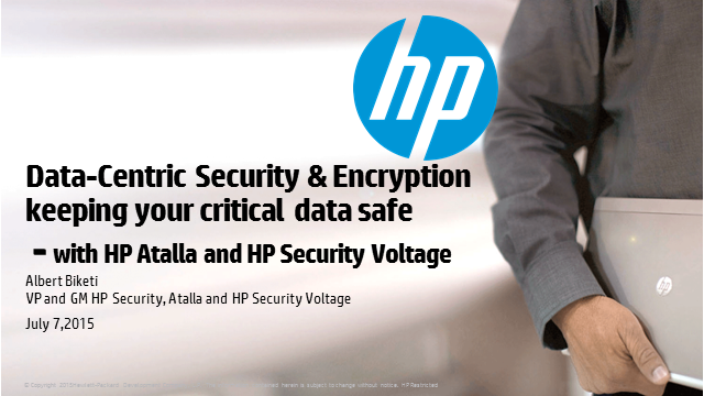 Data-centric Security & Encryption: Keeping Your Critical Data Safe