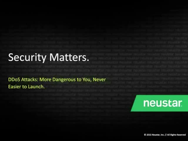 DDoS Attacks: More Dangerous to You; Never Easier to Launch