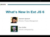 SNC - What's New In Ext JS 6