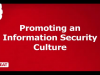 Promoting an Information Security Culture