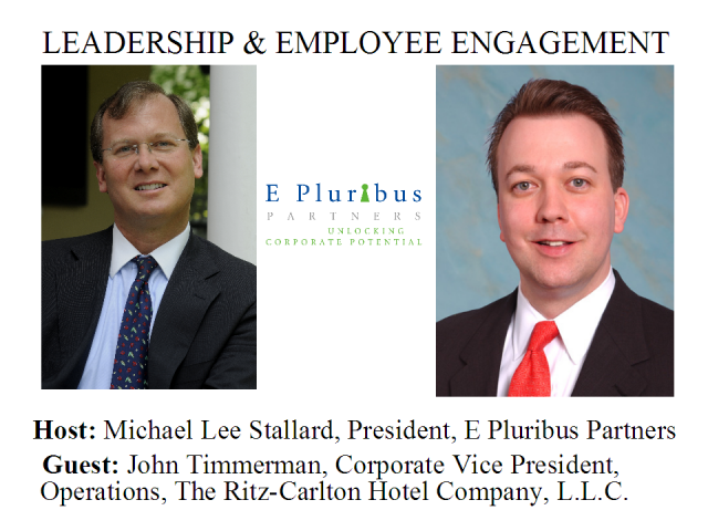 Employee and Guest Engagement at Ritz-Carlton