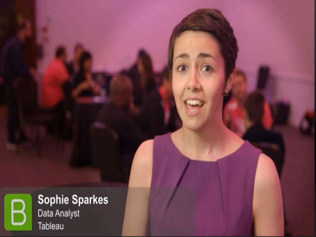 Extract Conference 2015: Sophie Sparkes, Tableau Software