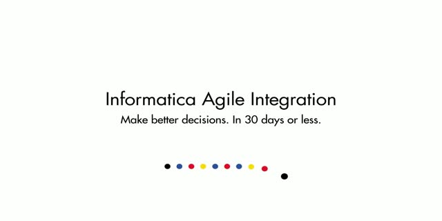 End-to-End Agility with Informatica 9.6