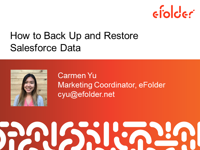 How to Back Up and Restore Salesforce Data