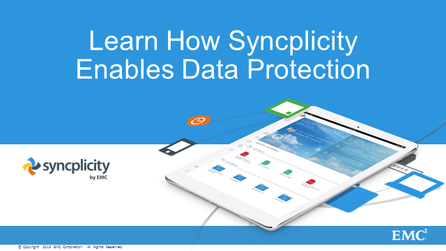 Learn How Syncplicity Enables Data Protection