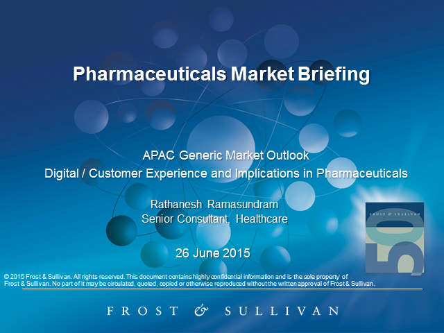 Pharmaceuticals Market Briefing