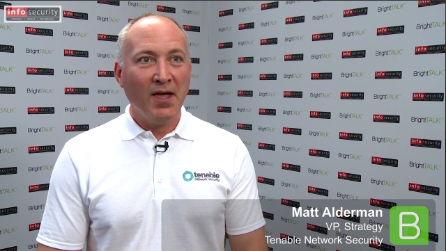 Infosecurity Europe 2015: Matt Alderman, Tenable Network Security
