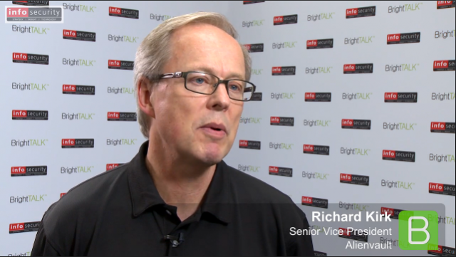 Infosecurity Europe 2015: Richard Kirk, AlienVault