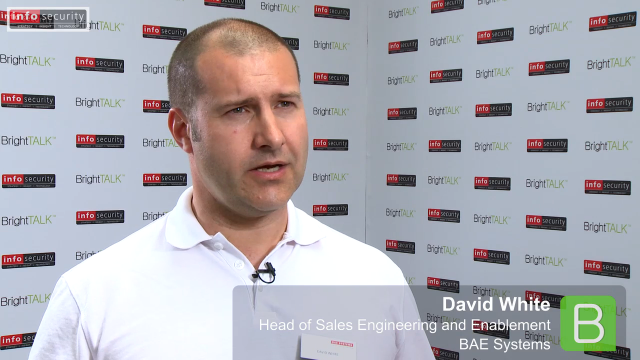 Infosecurity Europe 2015: David White, BAE Systems